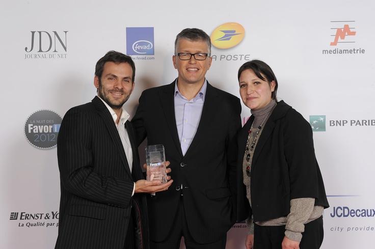 Favor'i 2012 : remise des trophées