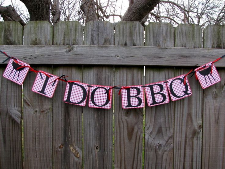bbq party banner i do bbq engagement banner we still do