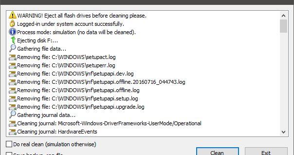 Βοηθητικό πρόγραμμα σχεδιασμένο για να σβήσει όλα τα ίχνη των συνδεδεμένων συσκευών USB flash-drives δίσκους και CD-ROM από το μητρώο του υπολογιστή των Windows XP Windows 2003 Windows Vista Windows 7 Windows 8 και Windows 10 (32 και 64-bit). Το πρόγραμμα έχει μια λειτουργία δοκιμής λειτουργίας δηλαδή χωρίς να αφαιρέσετε στοιχεία από το μητρώο και δημιουργεί ένα reg-αρχείο για να αναιρέσετε οποιεσδήποτε αλλαγές. Δεδομένου ότι η εγκατάσταση δεν αποτελεί προϋπόθεση μπορείτε να αποθηκεύσετε το…