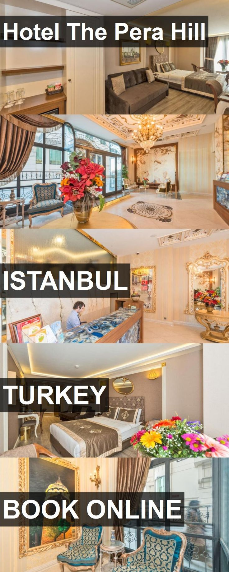 Hotel The Pera Hill in Istanbul, Turkey. For more information, photos, reviews and best prices please follow the link. #Turkey #Istanbul #travel #vacation #hotel