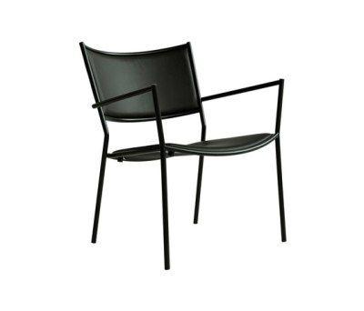 Jig Easy Chair Black - Fabric A