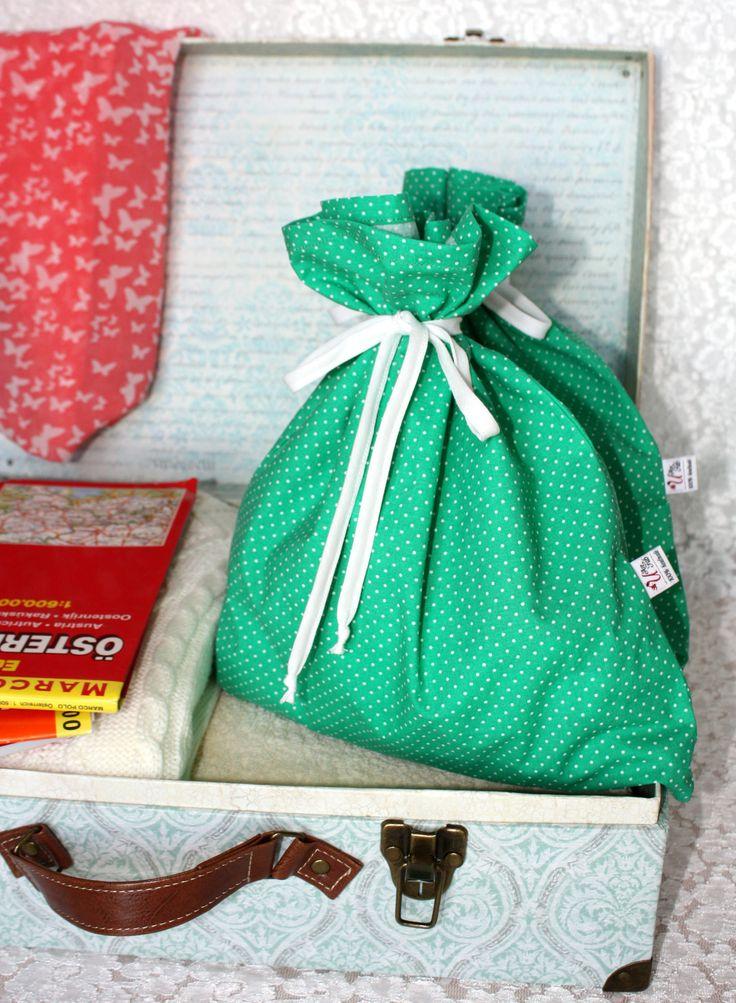 Handmade lingerie travel bags