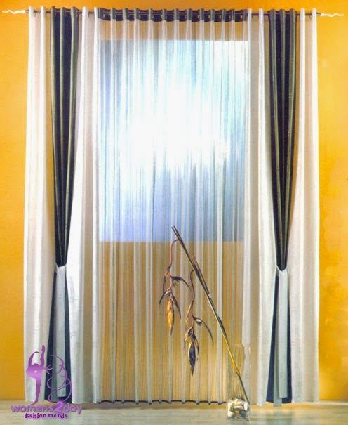 Luxury curtains for your living room / summer 2014
