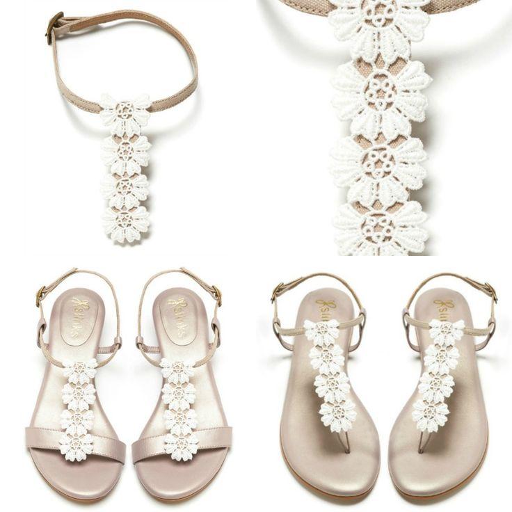 Stunning interchangeable sandals from Slinks