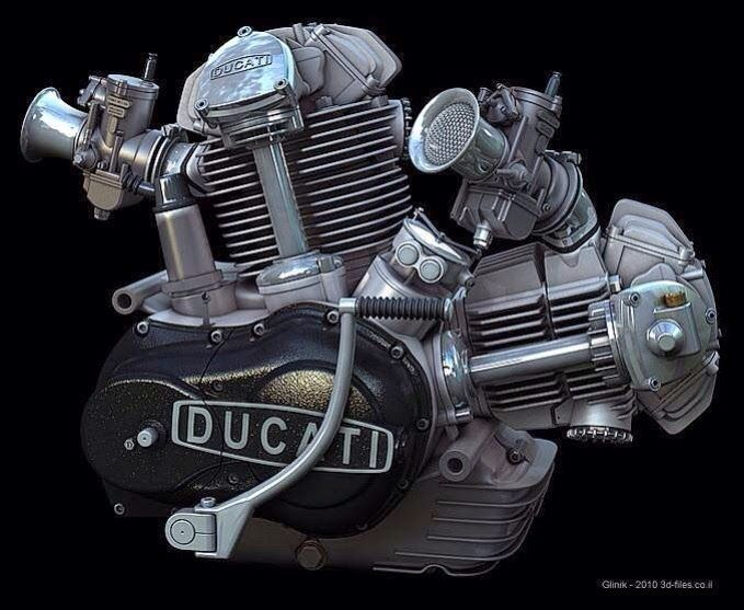 Second best looking engine :) Ducati