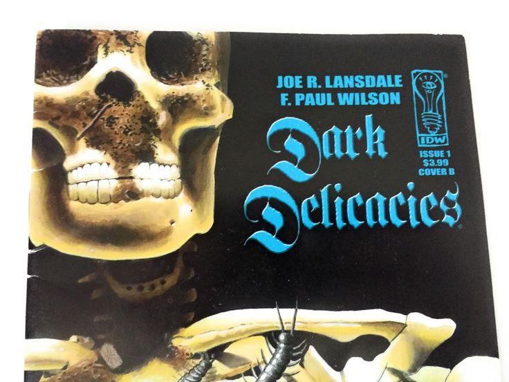 Dark Delicacies Issue 1 Cover B / Joe R. Lansdale & F. Paul Wilson