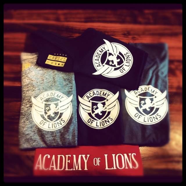 T-shirts and tanks @ Academy of Lions General Store & Espresso bar <3