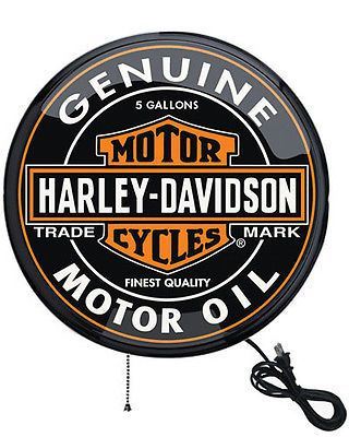 Other Lighting and Ceiling Fans 3201: Harley-Davidson 16 Oil Can Pub Light Sign - Wall-Mount, Low Wattage Hdl-15619 -> BUY IT NOW ONLY: $89.95 on eBay!