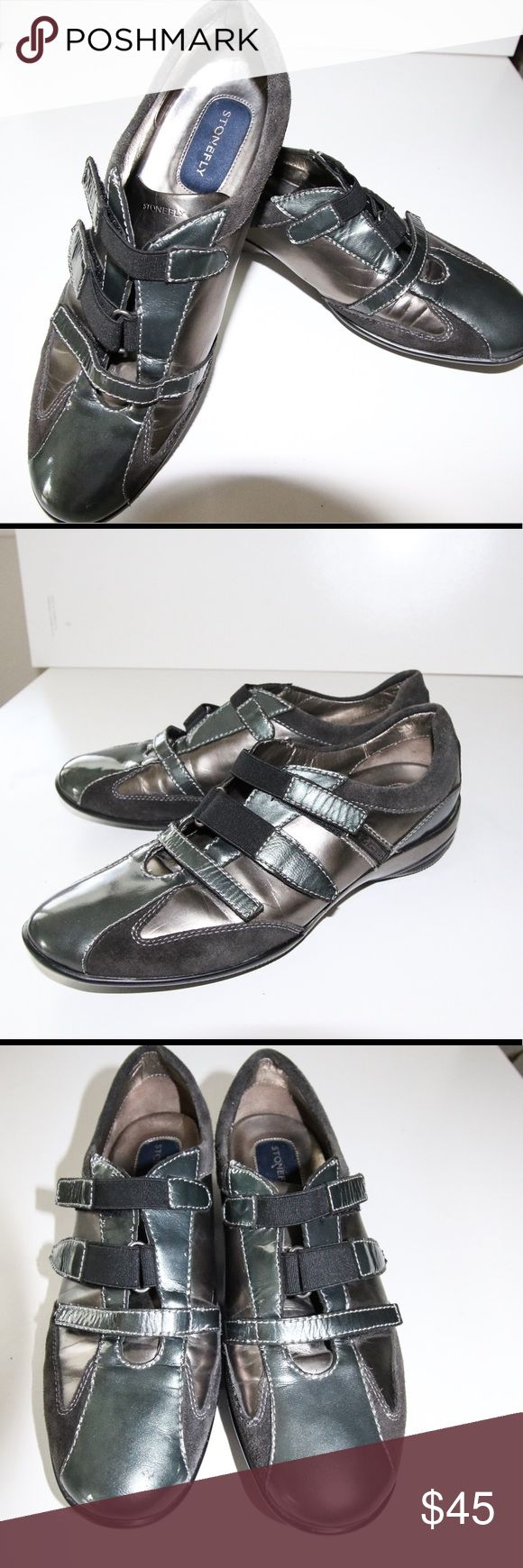 Like New Stonefly casual loafer sz 6.5 Stonefly men's loafer gray , like New Condition sz 6.5 stonefly Shoes Loafers & Slip-Ons