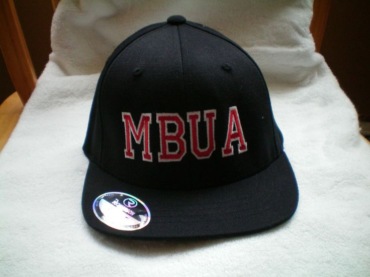 Black Richardson Flex Fit Combo Hat, with MBUA Lettering