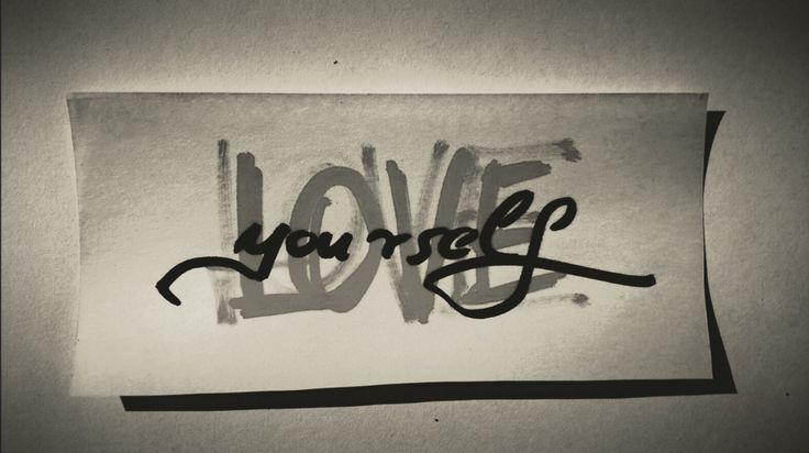 Love Yourself #art#artwork #letter #typography #grey #black #loveyourself