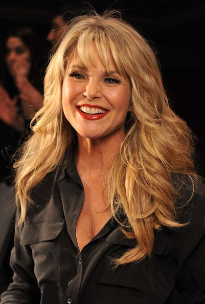 Christie Brinkley Photo - The Heart Truth's  Red Dress Collection 2012 Fashion Show - Backstage