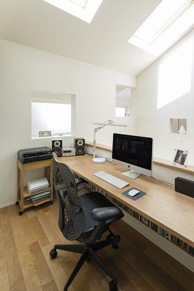 【家づくり】自分の空間を作っちゃった♡ワークスペース30選の画像の詳細です。