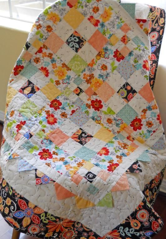 Baby Nine Patch by Ladylike design | Quilting Pattern - Looking for your next project? You're going to love Baby Nine Patch by designer Ladylike design. - via @Craftsy