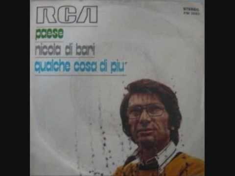 Nicola Di Bari- Paese - YouTube