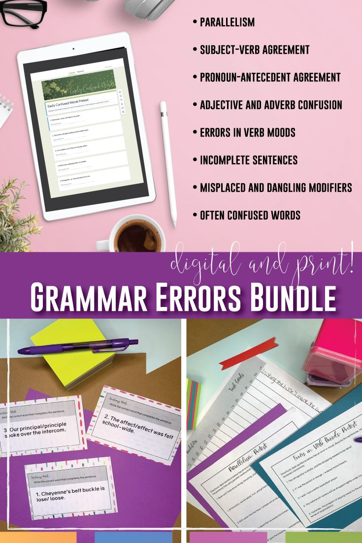 medium resolution of Grammar Errors in Student Essays   Teaching writing