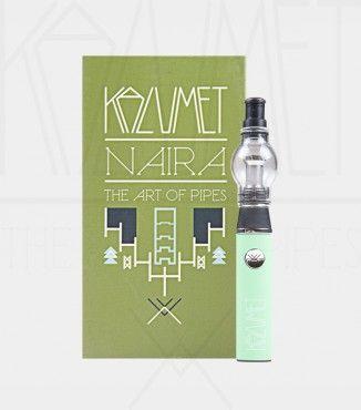 #Pipa #electronica pórtatil Naira #Verde ideal para atomizar todas tus #extracciones preferidas #BHO #Solventless #Amberglass #Hachís