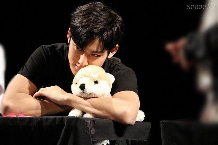 Our big puppy, Kim Mingyu