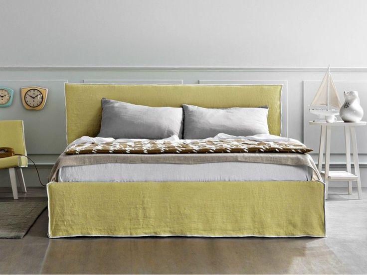 Doppelbett Mit Polsterkopfteil LINEA By Letti · Double BedsBed ...