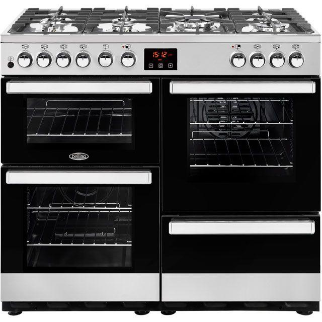 Belling Cookcentre100DFT 100cm Dual Fuel Range Cooker