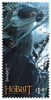 New Zealand Hobbit Stamps | Hobbit: Desolation of Smaug' characters featured on stamps, coins ...