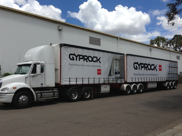 GYPROCK trucks