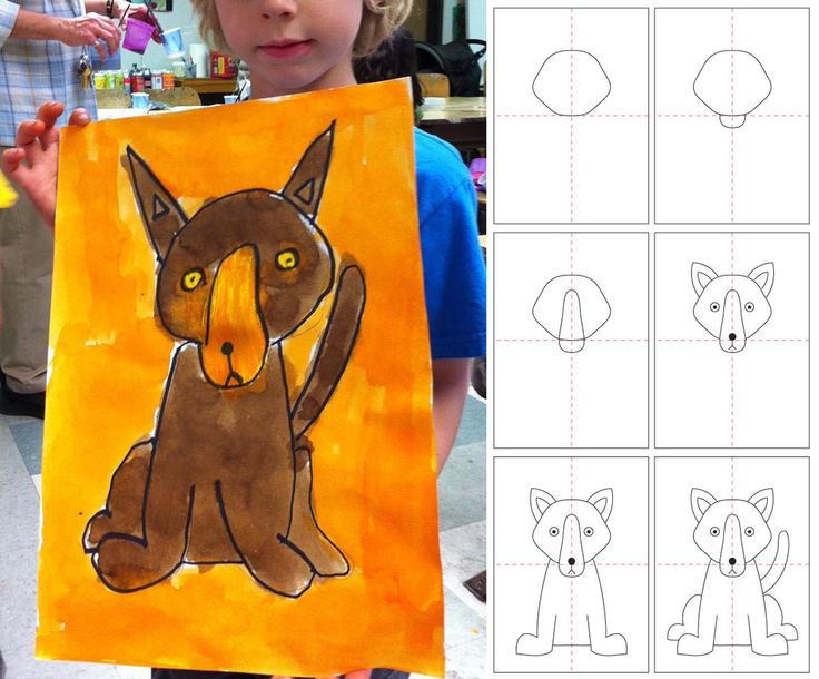 Art Projects for Kids: How to Draw a Dog
