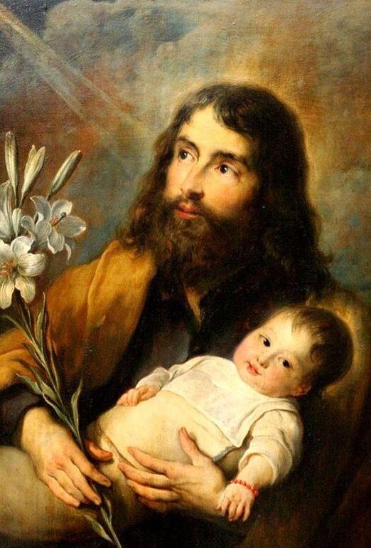 Mirando al cielo y escuchando a Dios. SAN JOSÉ, esposo y padre