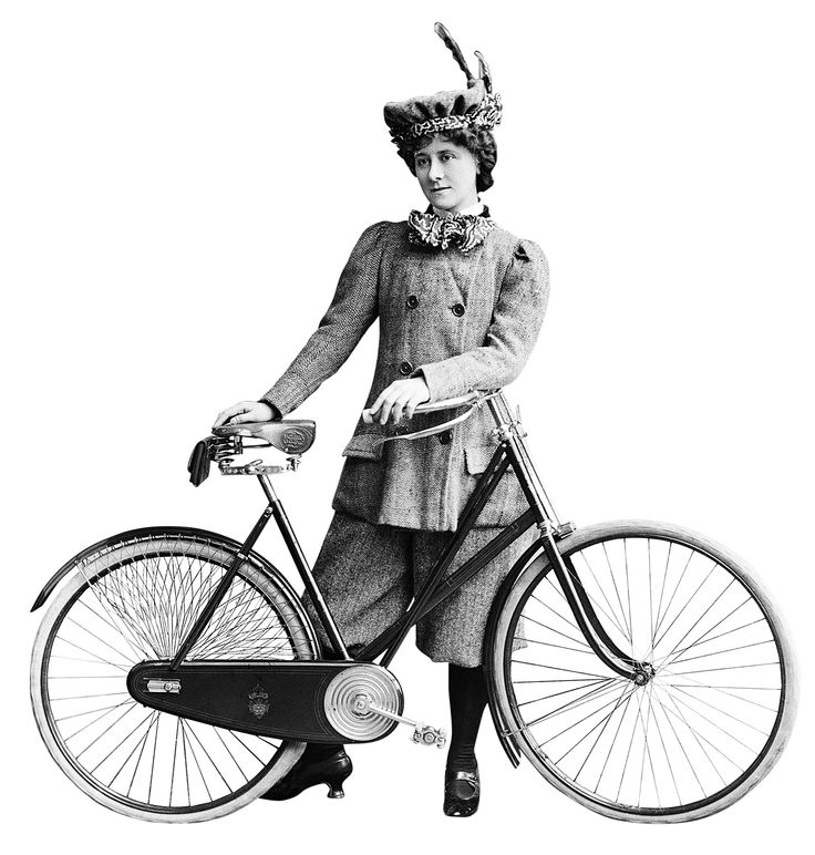 35 best Vintage Women on Bicyles images on Pinterest