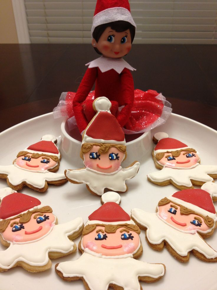 Elf on Shelf cookies