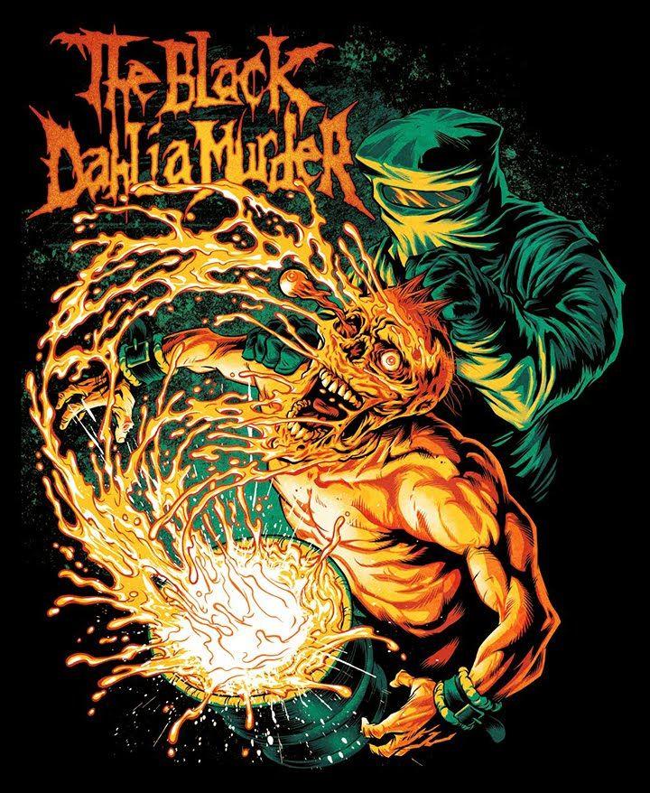 "BLACK DAHLIA MURDER: ""ACID DUNK"" - T-shirt design by popmonkey - Mintees"