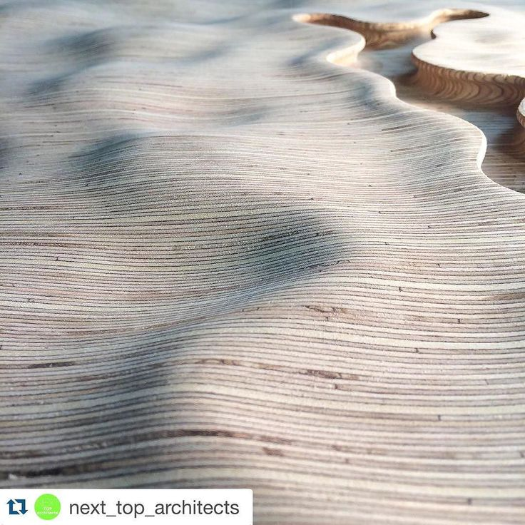#Repost @next_top_architects  snapchat/add/ nextarch | Pinstripe topographies by cordycept < enjoying shaping these dunes and rivers > #landscapes #woodwork #woodworking #joinery #design #topography #dunes #rivers #pinstripe #strata #stripes #designer #nature #biophilia #organic #sculpture #woodcarving #carving #handmade #madeinlondon | #nextarch #next_top_architects de myfirstnamegoeshere