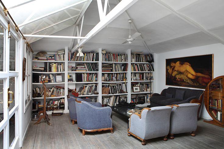 En el estudio de isabel mu oz en el piso de arriba el - Pisos relax madrid ...
