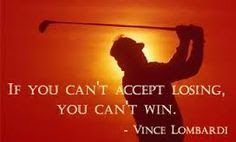 """Best #sports #quotes for #personalized #gifts: Vince Lombardi quote: """"If you can't accept losing, you can't win."""" #football www.thestyleref.com"""