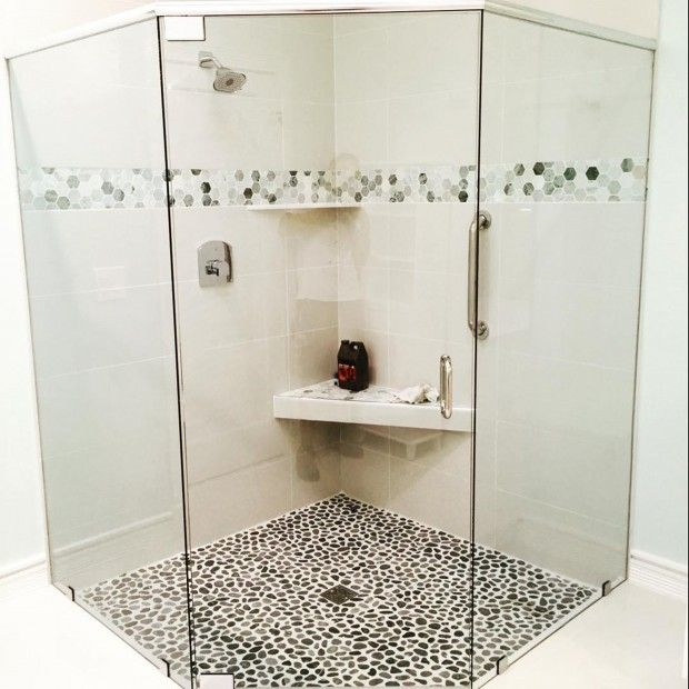 Walk in shower enclosures with seat walk in shower small bathroom pinterest ideas showers - Small shower enclosures ...