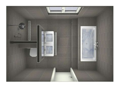 Image result for family bathroom 3x2.8 m Dach ausbauen