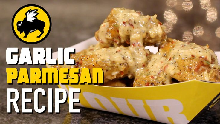 Buffalo Wild Wings Parmesan Garlic Copycat Recipe