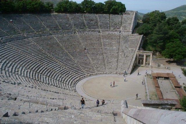 Teatro de Epidauro.