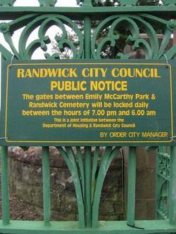 Randwick Cemetery
