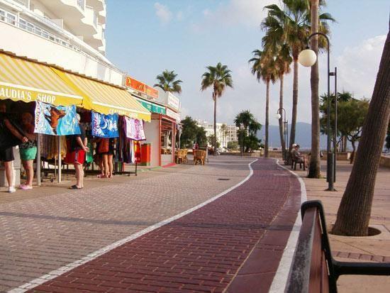 Image result for cala millor promenade