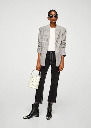 Double-Breasted Is The Only Way To Do Blazers This Season #refinery29