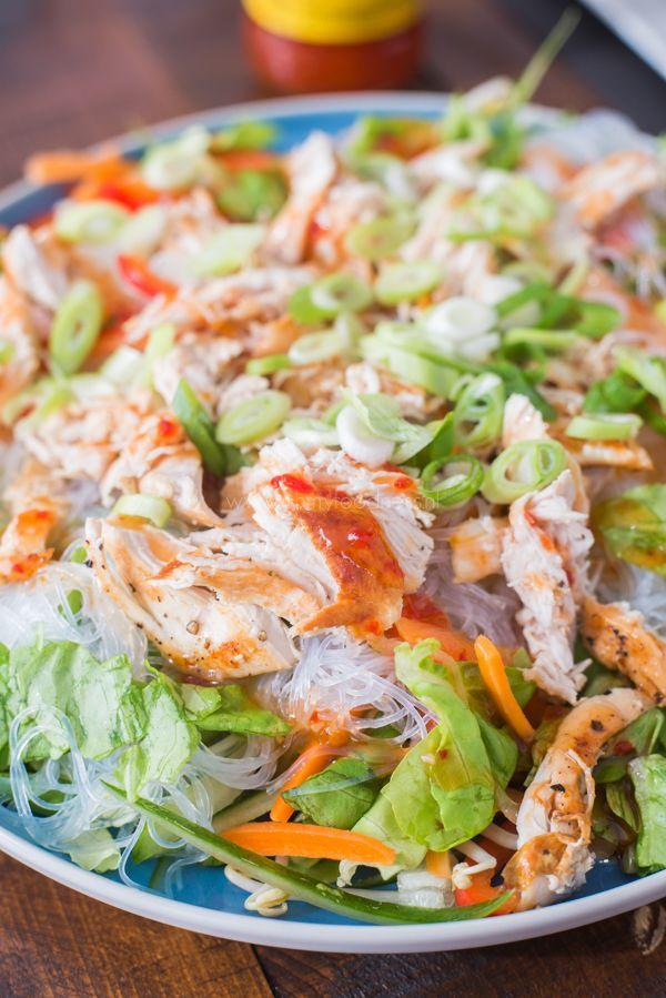 Vietnamese Springroll salade - OhMyFoodness