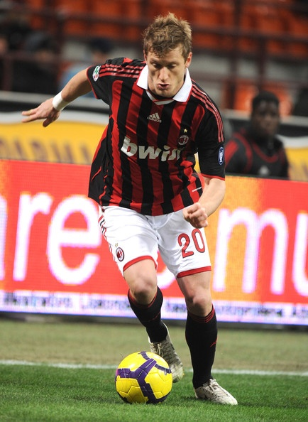 Ignazio Abate (born 12 November 1986) is an Italian professional footballer who plays as a fullback for Serie A club Milan. He is renowned for his quick sprints down the right wing.