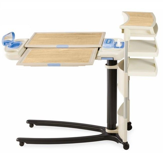Hill-Rom Art of Care Overbed Table 636 Fully-Loaded