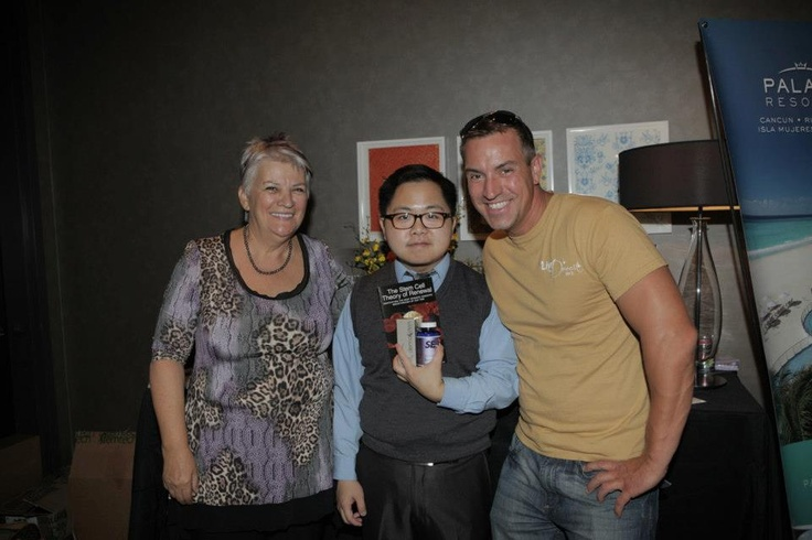 Matthew Moy of CBS's 2 Broke Girls and our Winner, Carl Mathieu and JM Roy of Quebec Canada