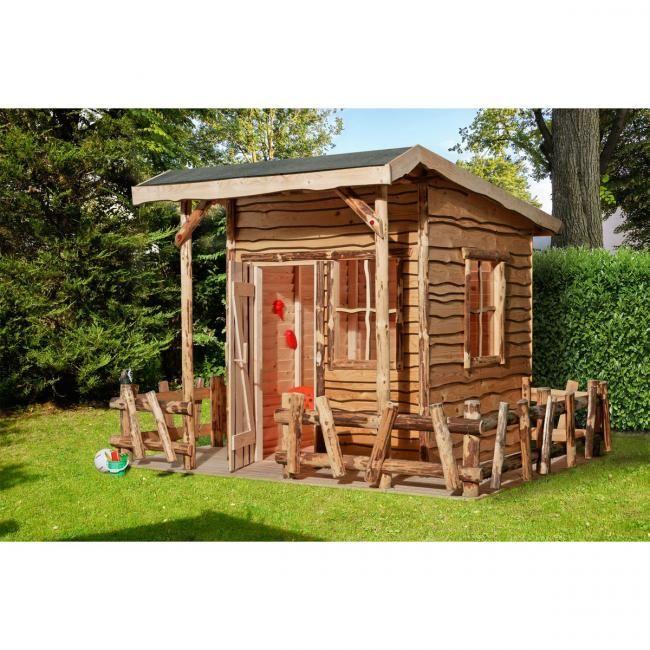 Weka Abenteuerhaus 820 A Mit Veranda Natur Holz 5 Jahre Bei Baywa Baumarkt De Kaufen In 2020 Haus Bauen Haus Spielhaus