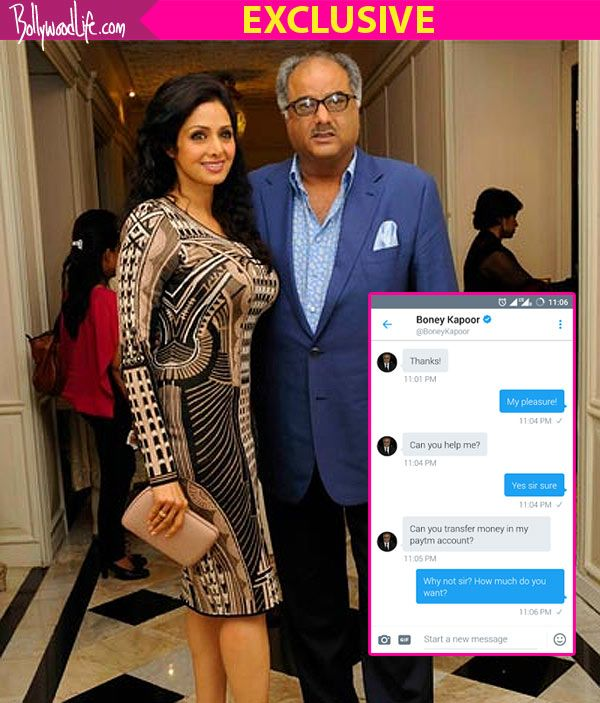 Dear Boney Kapoor, someone has hacked your account and is asking money from people #FansnStars