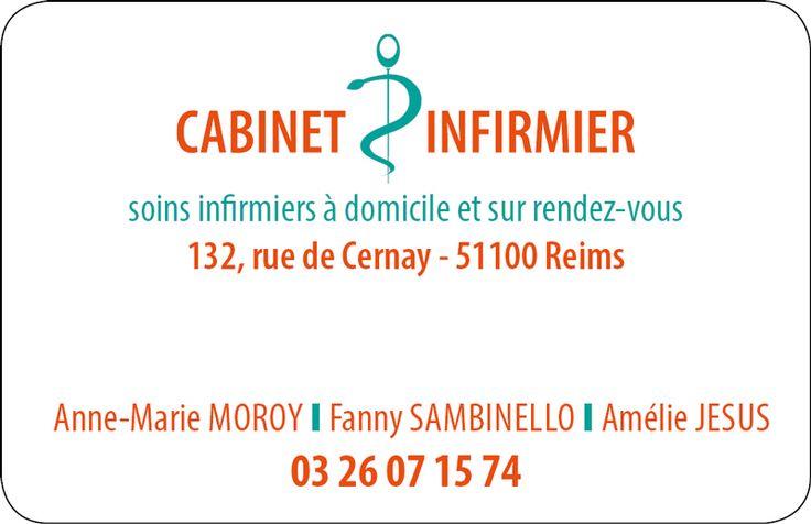 Carte pour cabinet infirmier