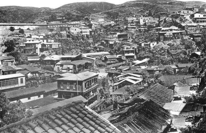 Cerro Larraín, Año 1898