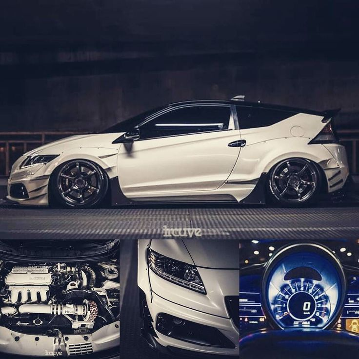 honda crz widebody by wishee_boy